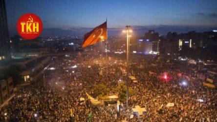 TKH: Emperyalizm işbirlikçileri Gezi'yi yargılayamaz!