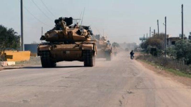 TSK'dan İdlib'e 70 araçlık konvoy