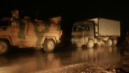 TSK'dan İdlib'e 200 araçlık konvoy