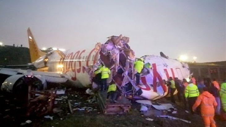 Sabiha Gökçen Havalimanı'nda pistten çıkan uçağın pilotlarına soruşturma