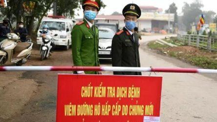 Vietnam'da Son Loi bölgesi, coronavirüs nedeniyle karantinaya alındı