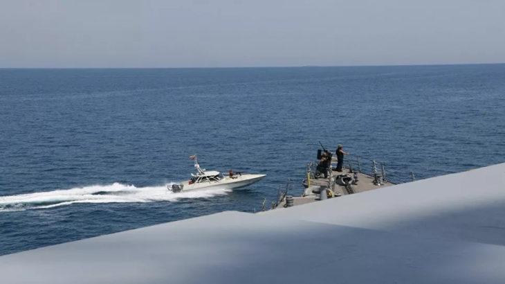 İran: Gemilerimizi tehdit eden ABD donanması birimlerinin hedef alınmasını emrettik