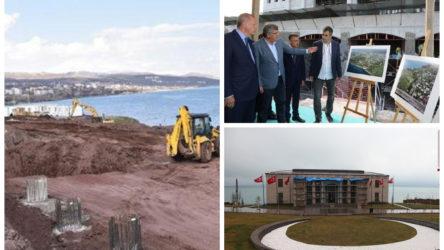 'Ahlat'ta devam eden saray inşaatında 2 işçide koronavirüs çıktı'