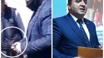 AKP'li Belediye Başkanı vatandaşa bıçak çekti: 'Şerefsizim takarım bunu sana'