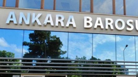 Ankara Barosu'ndan, genel kurulun ertelenmesi kararına iptal davası