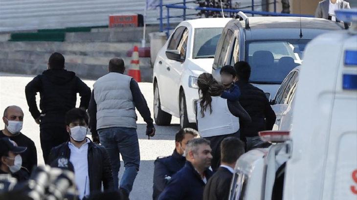 Ankara'da İnfaz Yasası ile cezaevinden çıkan bir kişi çocuklarını rehin alarak şiddet uyguladığı eşini eve dönmesi için tehdit etti