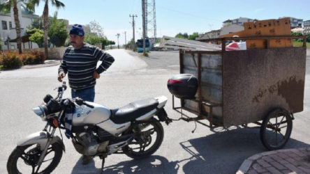 Antalya Konyaaltı'nda kağıt toplayıcısına 4 bin 500 lira ceza