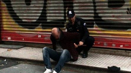 Beyoğlu'nda 5 yaşındaki çocuğu istismar etmeye çalışan kişi suçüstü yakalandı