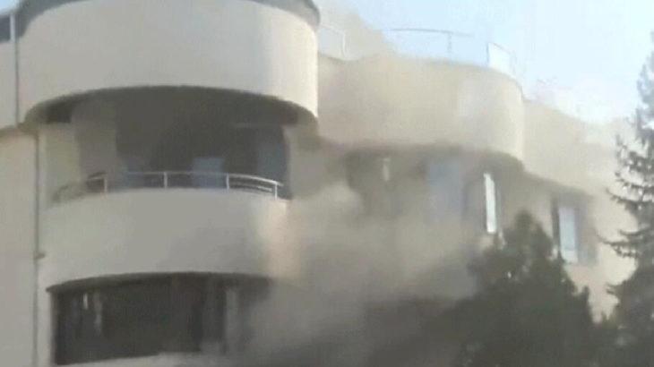 Çankaya'da yaşlı bakım merkezi'nde yangın