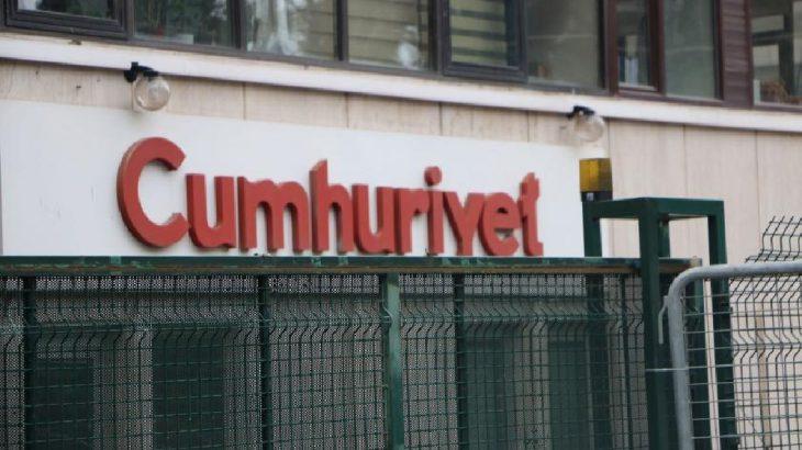 Cumhuriyet gazetesine 'Boğaz'da kaçak var' soruşturması