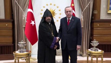 Erdoğan, Türkiye Ermenileri Patriği'ne mektup gönderdi