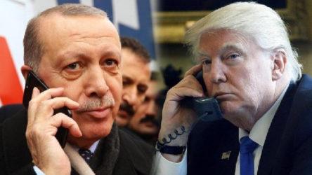 Erdoğan'dan Trump'la 'iş birliği' görüşmesi