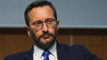 Fahrettin Altun'dan, 'Boğaz'da kaçak var' haberine 250 bin liralık tazminat talebi