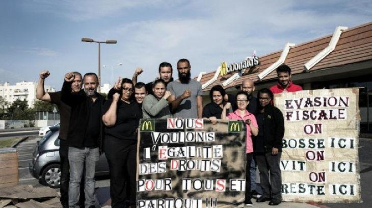 Fransa'da işçiler McDonalds'a el koydu