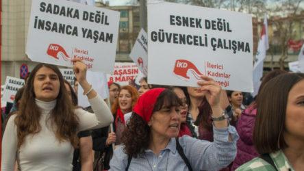 Asgari ücret tartışmalarına ilişkin İKD'den açıklama: Sadakalarınızı değil, hakkımızı istiyoruz!