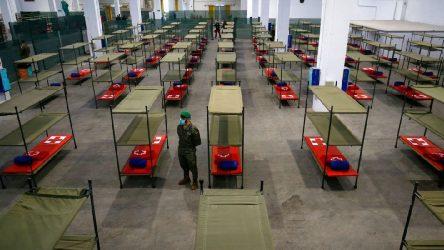 İspanya'da 1 günde 864 kişi daha öldü