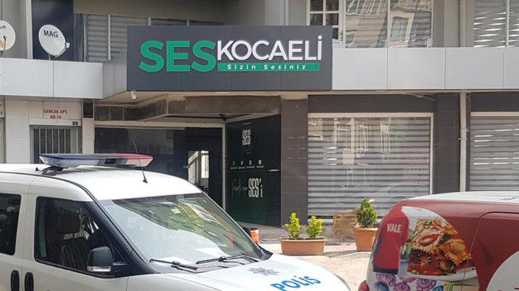 İzmit'te yerel gazete binasına silahlı saldırı