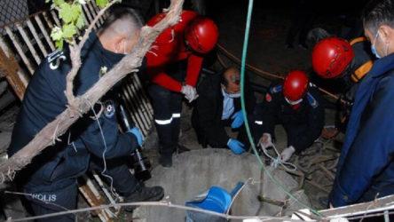Düşen köpeğini kurtarmak için girdiği kuyuda boğuldu