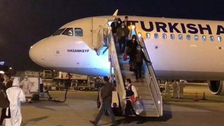 Rusya ve Almanya'dan getirilen 527 kişi karantina altına alındı
