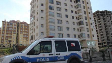 Kayseri Kocasinan'da 8 katlı apartmana koronavirüs karantinası