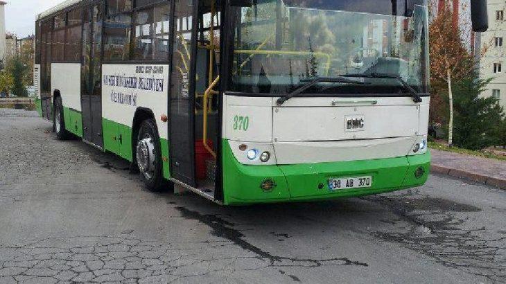 Kayseri'de 850 özel halk otobüsü şoförü karantinaya alındı