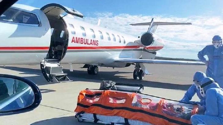Türkiye'ye ambulans uçakla Covid-19 hastası taşımak yasaklandı