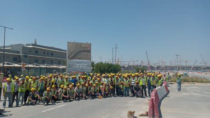 Limak'ın Kuveyt'teki şantiyesinde işçilerin eylemleri sürüyor