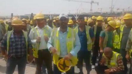 İşçiler Limak patronuna karşı kararlı: Pazarlık yapmayın, haklarımızı verin!