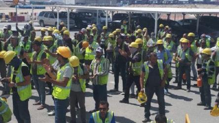 Limak işçileri mücadelelerini Türkiye'ye taşıyor