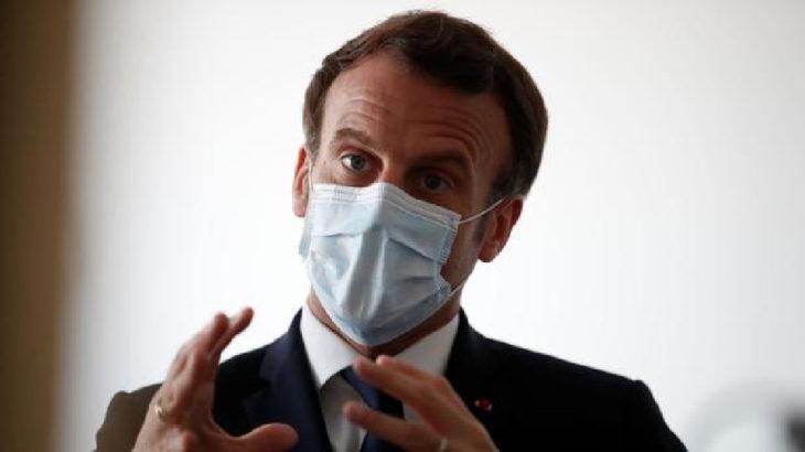 Macron'un koronavirüs testi pozitif çıktı