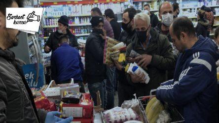 Coronavirüs market alışverişinde