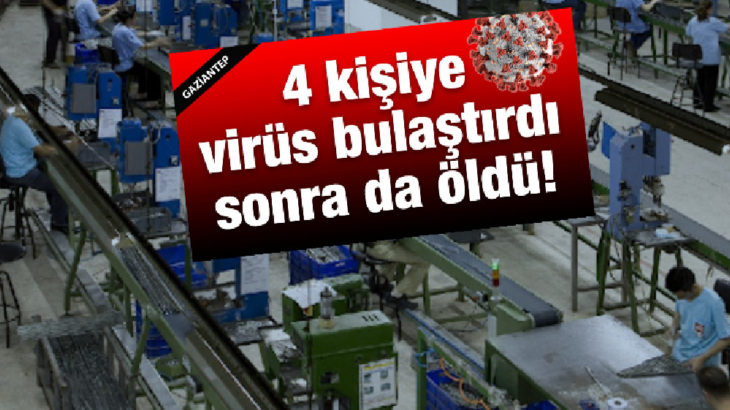 Tedbirsiz çalıştıran patron değil virüsü kapan işçi suçlu oldu!
