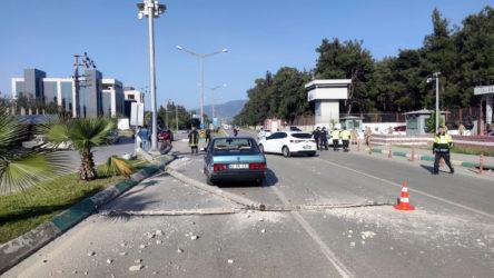 Osmaniye'de otomobil askeri araca çarptı: 7 yaralı