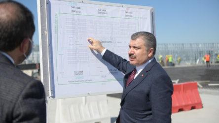 Sağlık Bakanı Fahrettin Koca'dan 'hastane' açıklaması