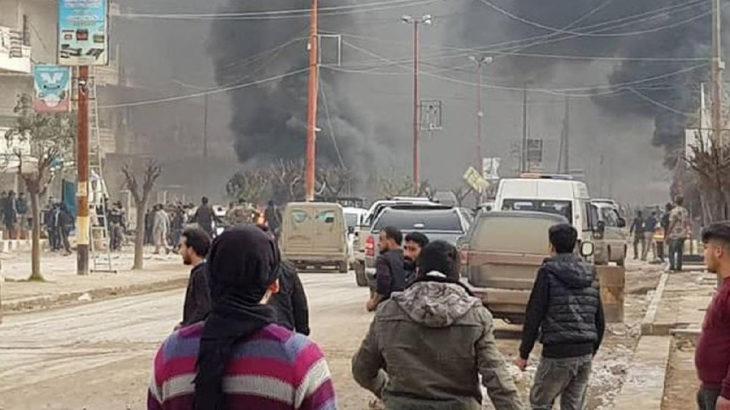 Afrin'de bomba yüklü tankerle saldırı: 10'larca ölü ve yaralı var
