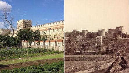 Tarihi değer yok ediliyor: Hobi bahçesi yapıldı