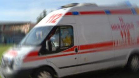 Tarım işçilerini taşıyan araçta kaza: 7 yaralı
