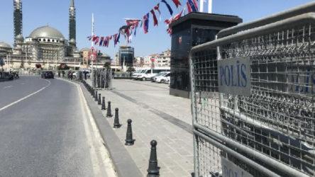 1 Mayıs öncesi Taksim Meydanı ve Gezi Parkı kapatılıyor