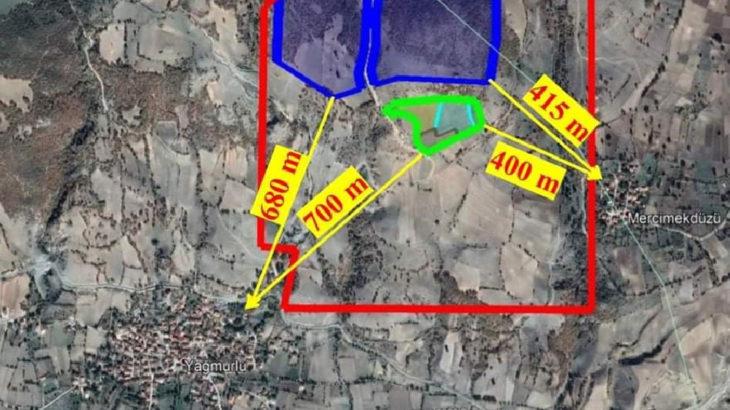 Tokat Yağmurlu Köyü'ne yapılacağı öğrenilen taş ocağına tepki