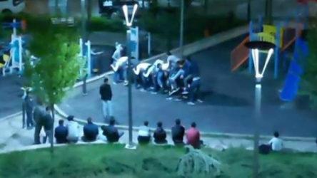 Parkta 'uzun eşek' oynamışlardı: 31 bin 500 lira ceza kesildi