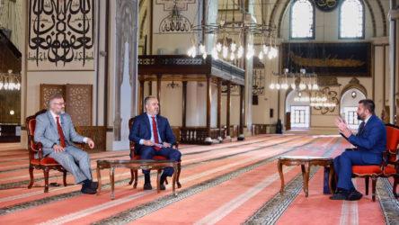 Virüs sebebiyle kapalı cami AKP'li başkan için açıldı