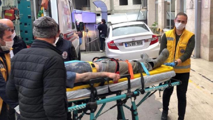 Zonguldak Kilimli'de maden ocağında göçük: 2 işçi yaralandı