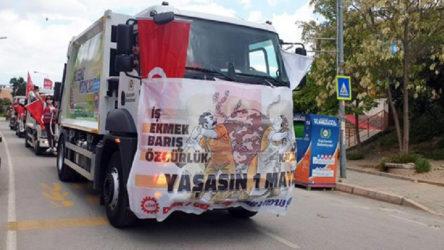 Temizlik işçilerine 1 Mayıs cezası