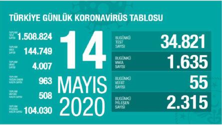 Türkiye'de koronavirüs nedeniyle can kaybı 4 bini geçti
