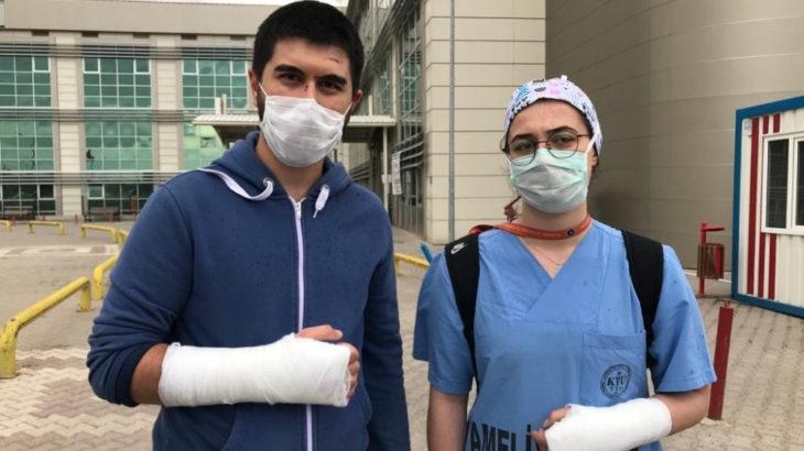 2 doktoru darp eden hasta yakını serbest bırakıldı