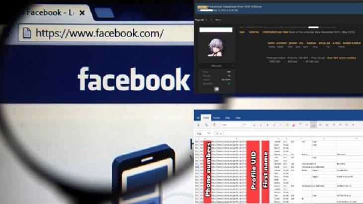 500 milyon Facebook kullanıcısının kişisel bilgileri çalındı