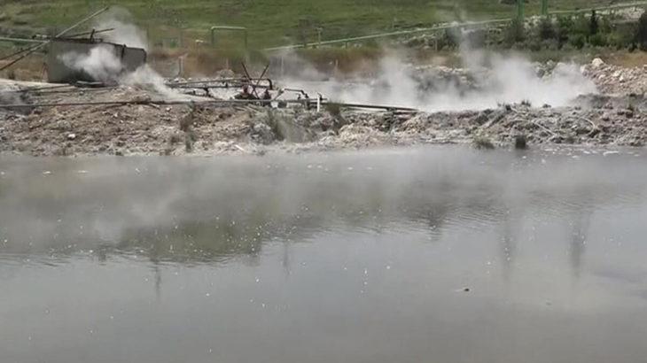 Yeraltı termal su kaynaklarında sıcaklık 80 dereceye çıktı
