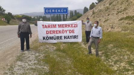 Dereköy Yaylası'nda maden ocağı girişimine karşı köylüler harekete geçti