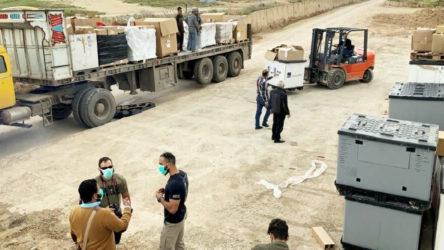 ABD, YPG'ye sağlık malzemesi ve maske yardımı yaptı
