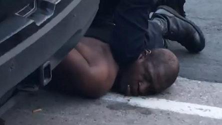 ABD'de korkunç polis terörü